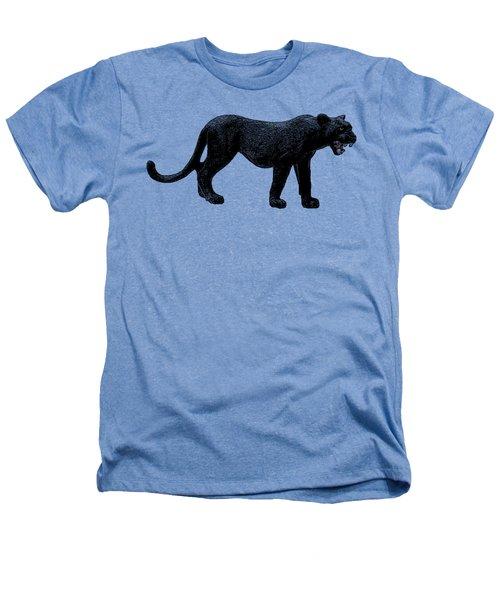Black Panther, Isolated On White Background, Cartoonized Image, Pose #12 Heathers T-Shirt