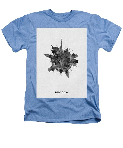 Black Skyround Art Of Moscow, Russia Heathers T-Shirt