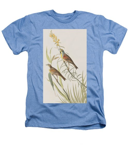 Black-throated Bunting Heathers T-Shirt