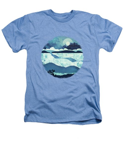 Blue Desert Heathers T-Shirt by Spacefrog Designs