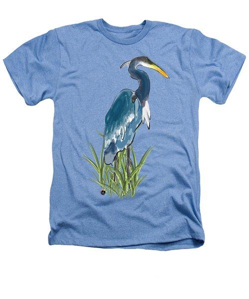 Blue Heron Heathers T-Shirt