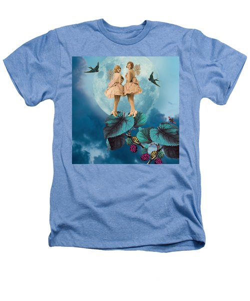 Blue Moon Heathers T-Shirt by Olga Snell