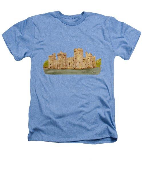 Bodiam Castle Heathers T-Shirt by Angeles M Pomata