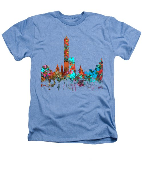 Bologna Italy  Skyline  Heathers T-Shirt
