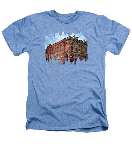 Boomtown Saloon Jacksonville Oregon Heathers T-Shirt