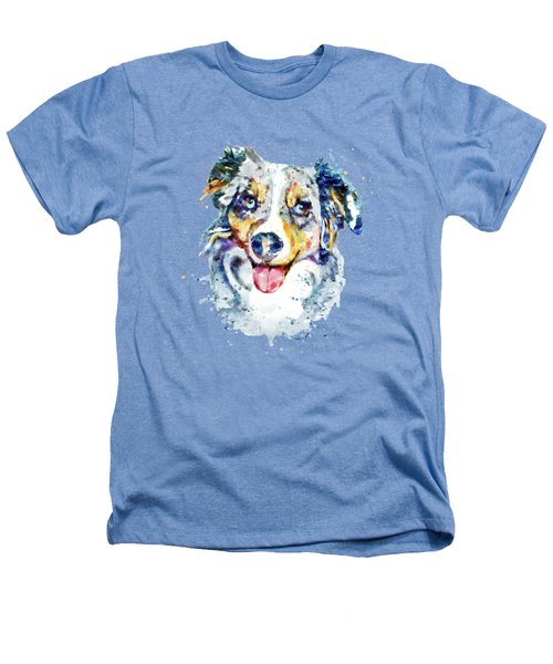 Border Collie  Heathers T-Shirt by Marian Voicu