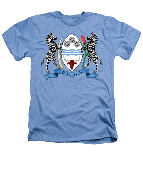 Botswana Coat Of Arms Heathers T-Shirt