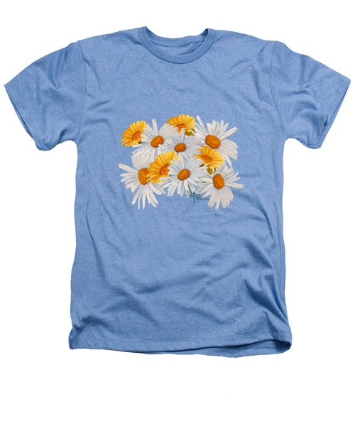 Bouquet Of Wild Flowers Heathers T-Shirt by Angeles M Pomata