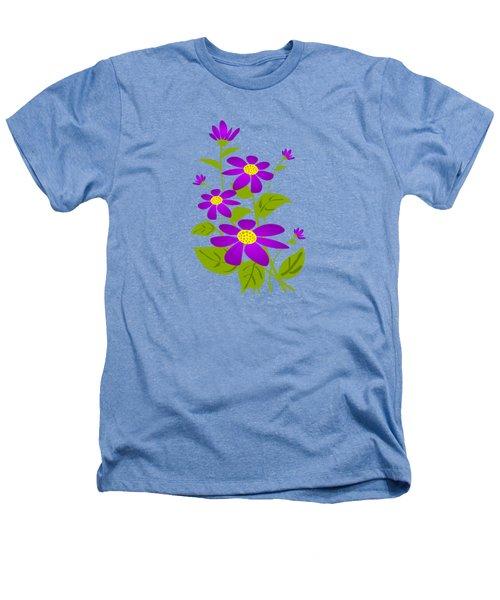 Bright Purple Heathers T-Shirt