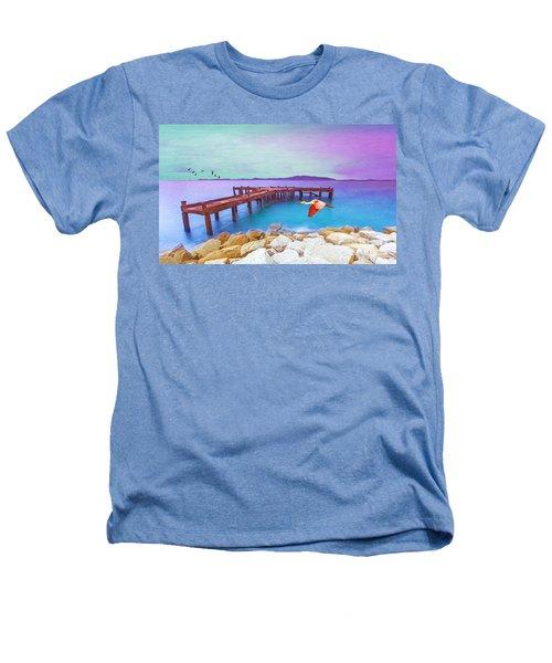 Brown Dock Heathers T-Shirt