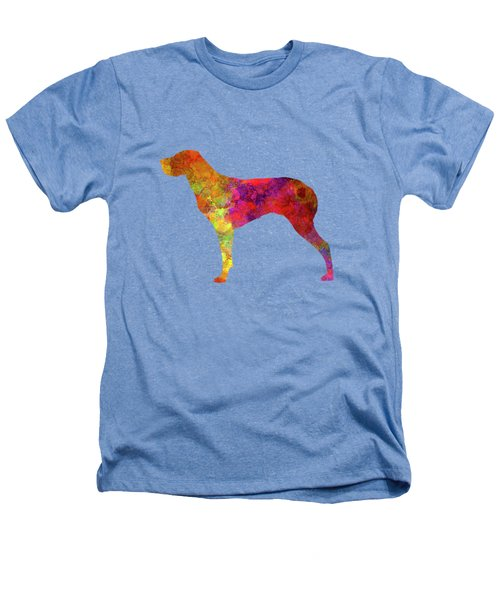 Burgos Pointer In Watercolor Heathers T-Shirt