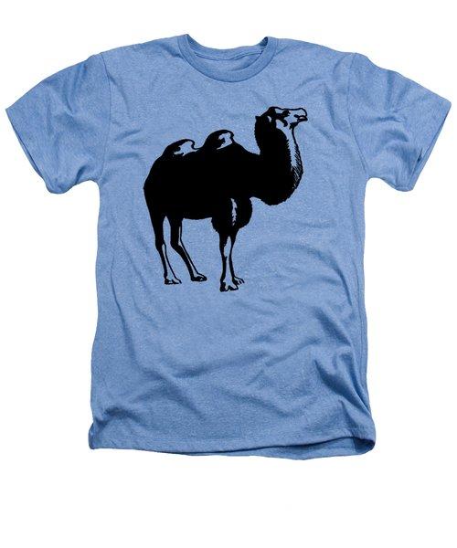 Camel - Camel Tee Shirt Heathers T-Shirt by rd Erickson