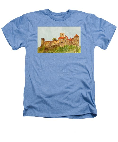 Castle Hardegg Heathers T-Shirt by Angeles M Pomata