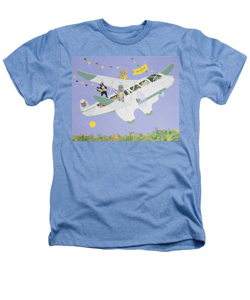Cat Air Show Heathers T-Shirt