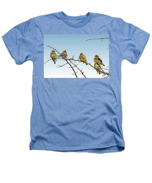 Cedar Waxwings Heathers T-Shirt
