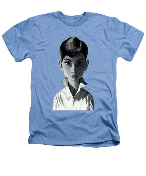 Celebrity Sunday - Audrey Hepburn Heathers T-Shirt by Rob Snow