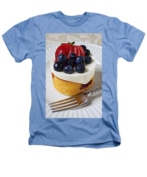 Cheese Cream Cake With Fruit Heathers T-Shirt by Garry Gay