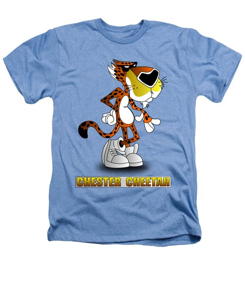 Chester Cheetah Heathers T-Shirt by Brian Swanke