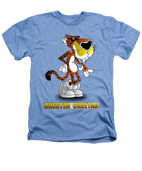 Chester Cheetah Heathers T-Shirt