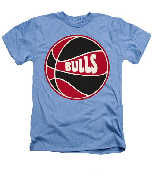 Chicago Bulls Retro Shirt Heathers T-Shirt by Joe Hamilton