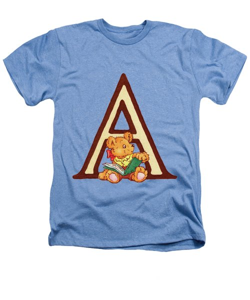 Children's Letter A Heathers T-Shirt by Andrea Richardson
