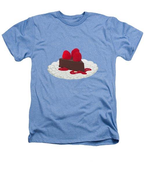 Chocolate Cake Heathers T-Shirt by Priscilla Wolfe