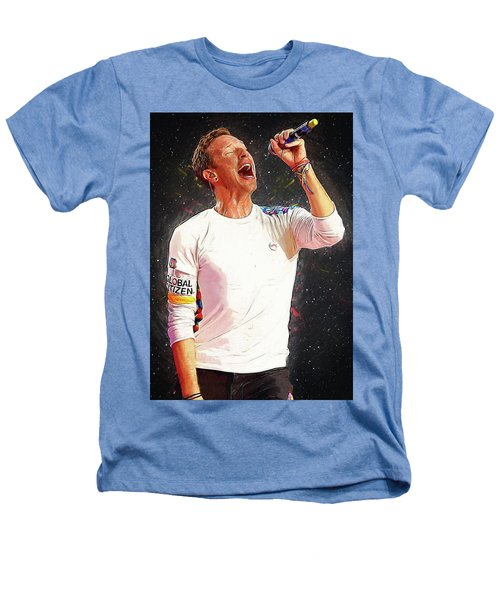 Chris Martin - Coldplay Heathers T-Shirt by Semih Yurdabak