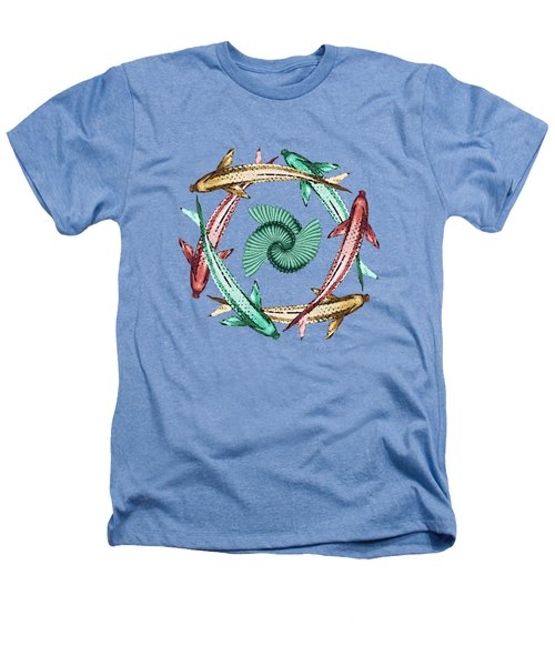 Circle Heathers T-Shirt by Deborah Smith