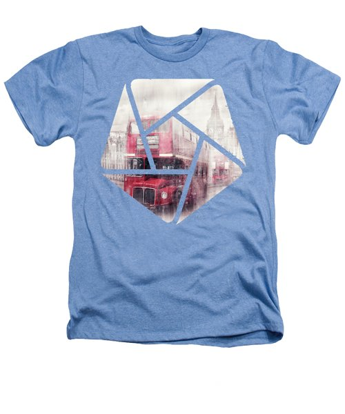 City-art London Westminster Collage II Heathers T-Shirt by Melanie Viola