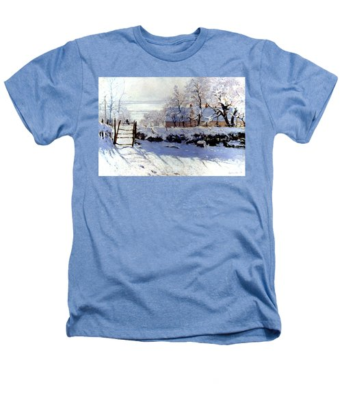 Claude Monet The Magpie - To License For Professional Use Visit Granger.com Heathers T-Shirt