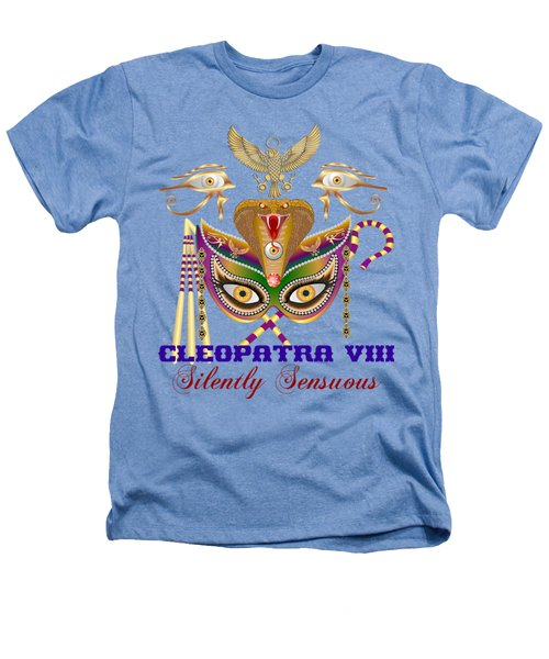 Cleopatra Viii For Light Color Products Heathers T-Shirt by Bill Campitelle