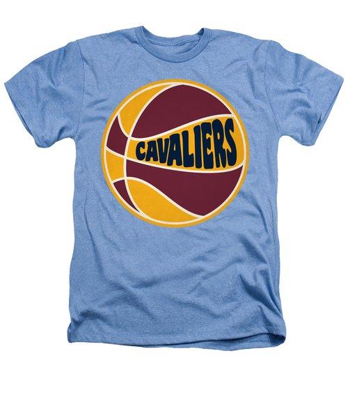Cleveland Cavaliers Retro Shirt Heathers T-Shirt by Joe Hamilton