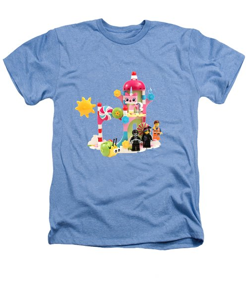 Cloud Cuckoo Land Heathers T-Shirt by Snappy Brick Photos