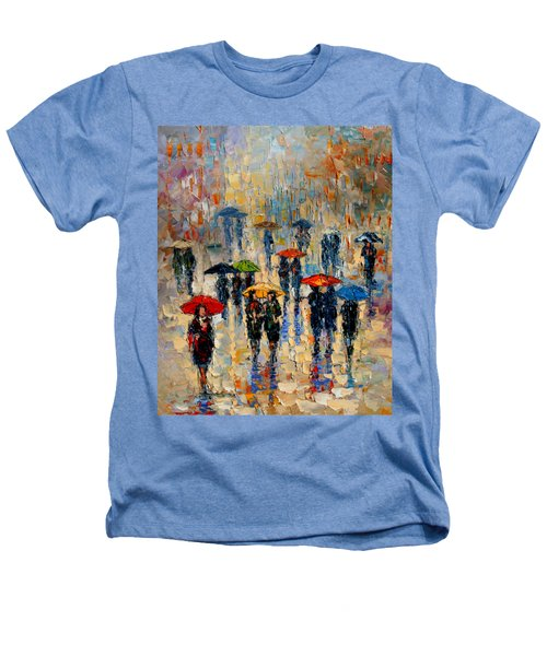 Cloudy Day Heathers T-Shirt