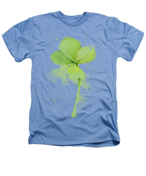 Clover Watercolor Heathers T-Shirt