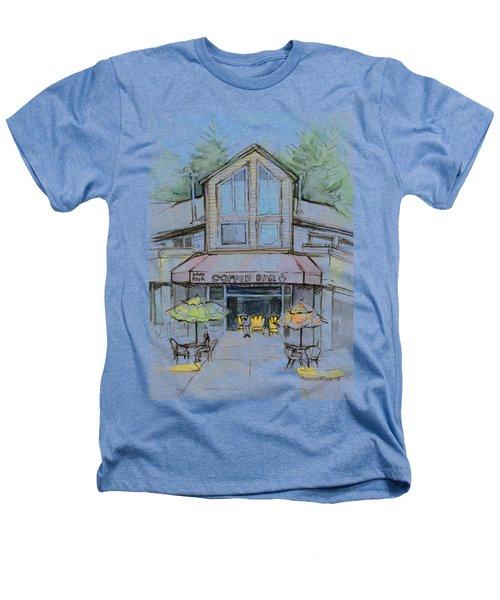 Coffee Shop Watercolor Sketch Heathers T-Shirt by Olga Shvartsur