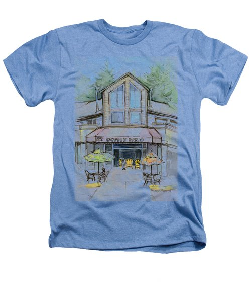 Coffee Shop Watercolor Sketch Heathers T-Shirt