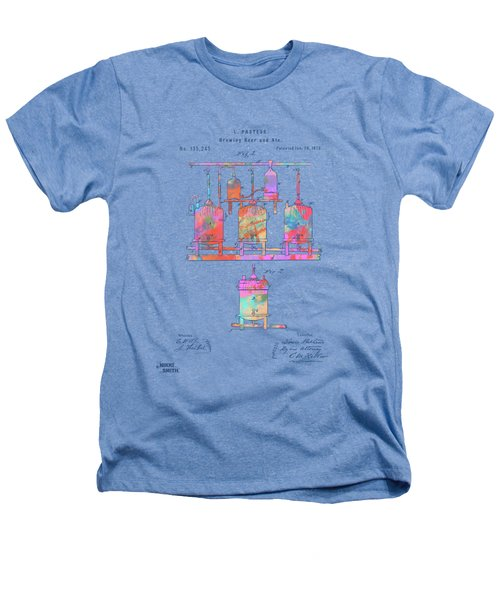 Colorful 1873 Brewing Beer And Ale Patent Artwork Heathers T-Shirt