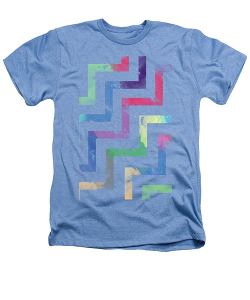 Colorful Geometric Patterns Vi Heathers T-Shirt by Amir Faysal