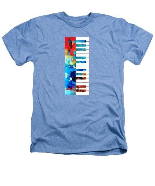 Colorful Piano Art By Sharon Cummings Heathers T-Shirt