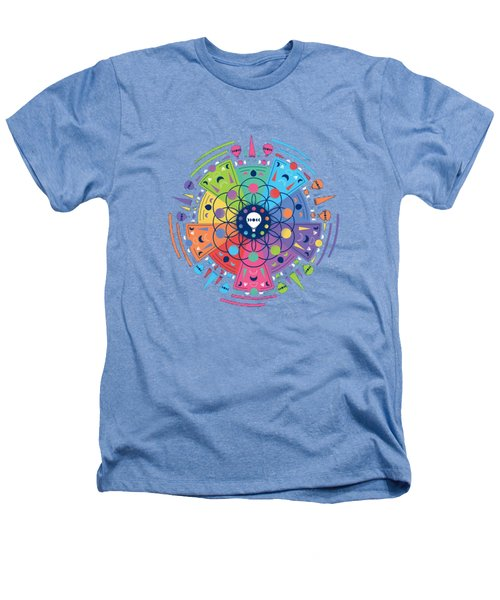 Colourful Of Stars Heathers T-Shirt