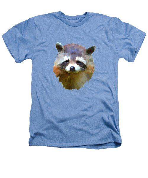 Colourful Raccoon Heathers T-Shirt by Bamalam  Photography