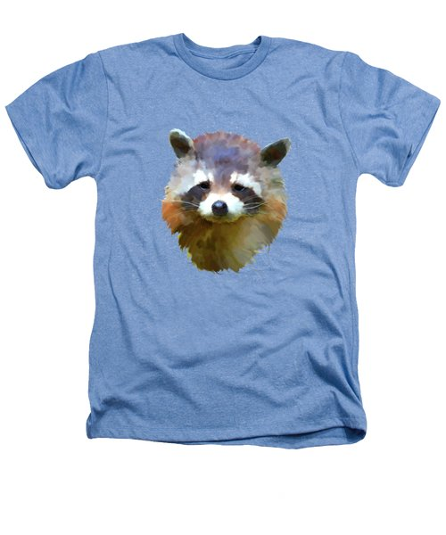 Colourful Raccoon Heathers T-Shirt