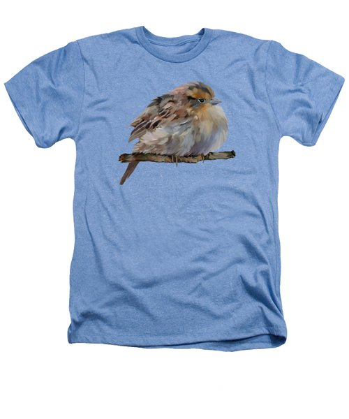 Colourful Sparrow Heathers T-Shirt by Bamalam  Photography