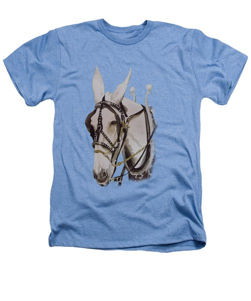Connie The Mule Heathers T-Shirt by Gary Thomas