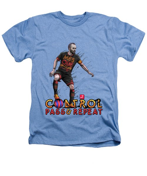Control Pass And Repeat Heathers T-Shirt