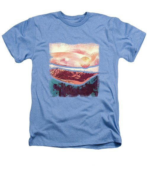 Coral Sky Heathers T-Shirt