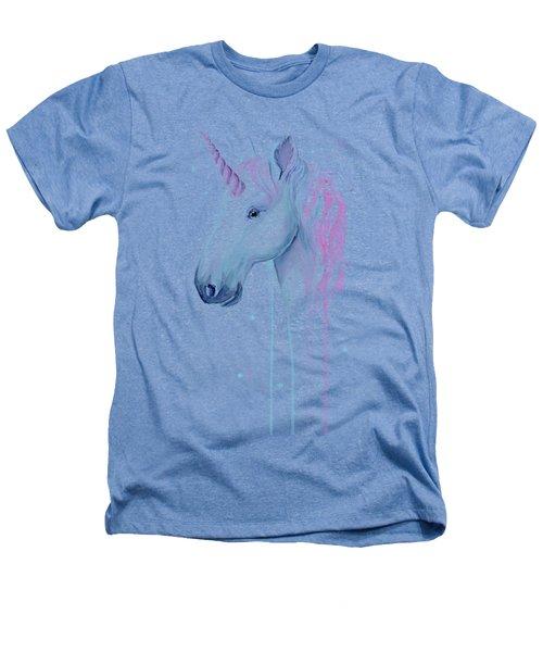 Cotton Candy Unicorn Heathers T-Shirt