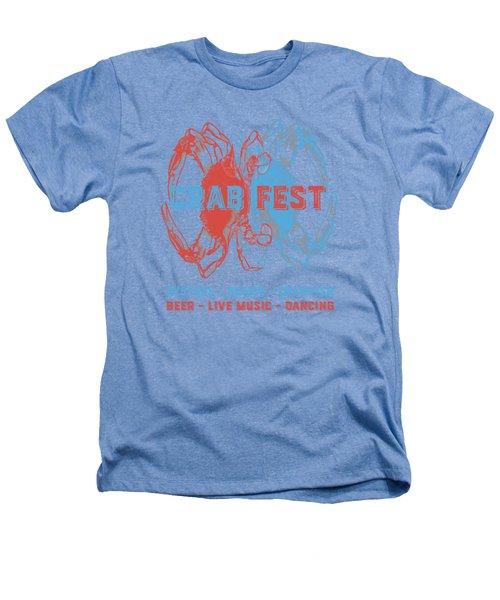 Crab Fest Tee Heathers T-Shirt by Edward Fielding
