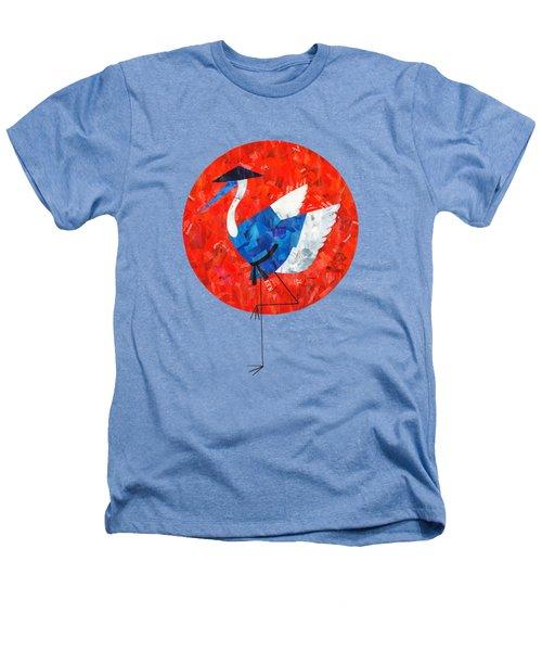 Crane Heathers T-Shirt by Daryna Skulska